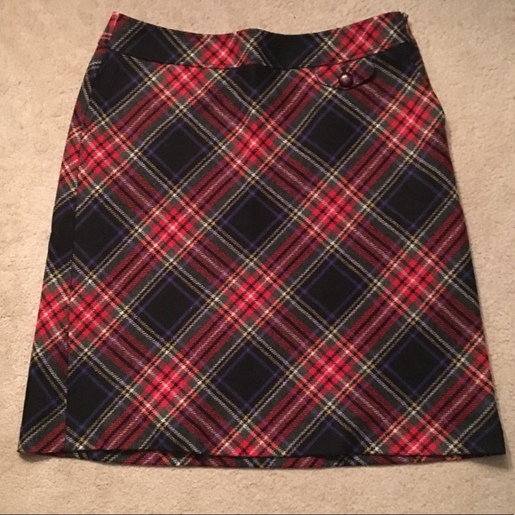 e341feac41 L.L. Bean Skirts | Ll Bean Size 14 Plaid Skirt | Poshmark